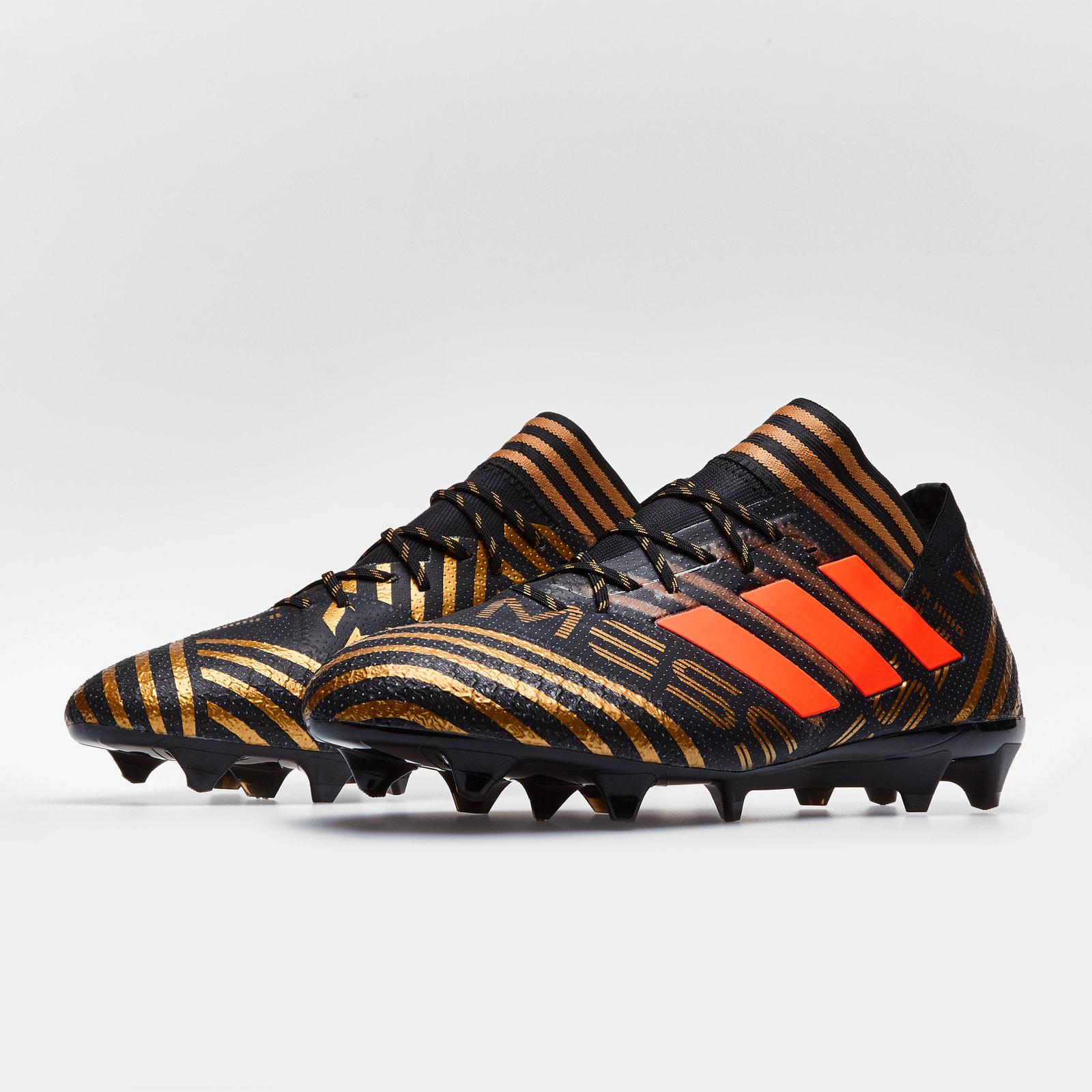 be331eec69c4 Details about adidas Mens Nemeziz Messi 17.1 SG Football Boots Studs Sports  Trainers Black