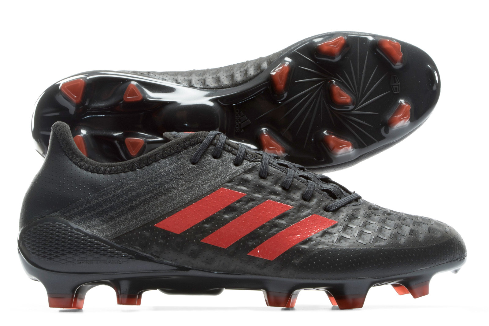 brand new 1176a dff98 adidas Mens Predator Malice Control FG Rugby Boots Sports Shoes Studs Brown