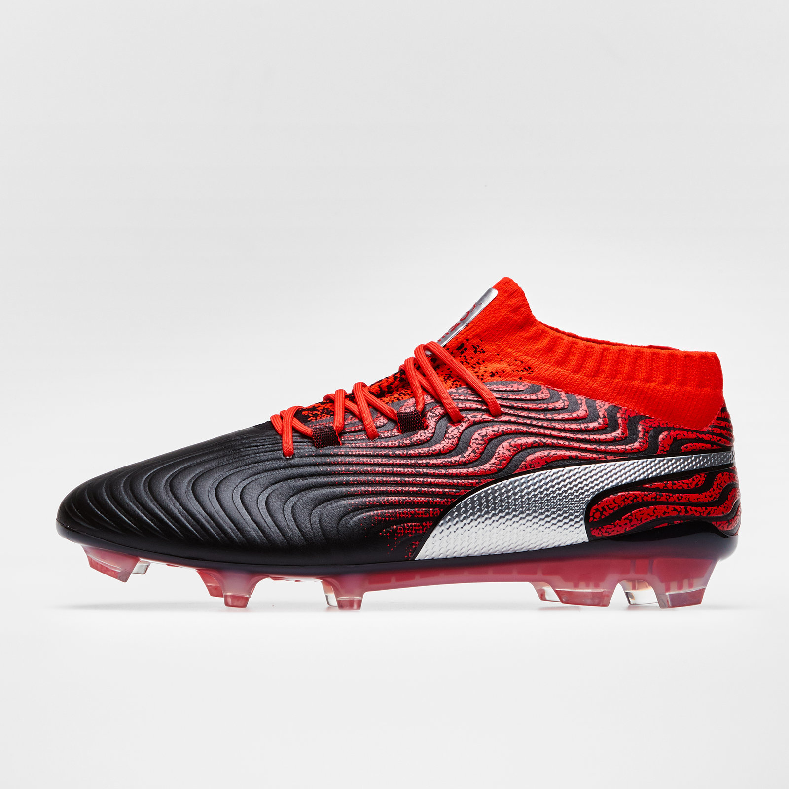 Mens Puma One 18.1 Syn Firm Ground Football Boots Trainers Sports ... dde522046