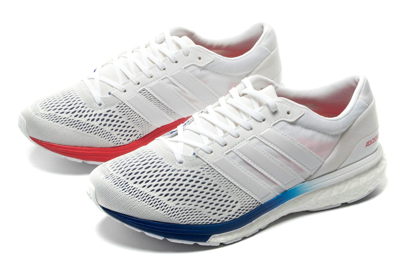 best wholesaler d8963 21488 adidas Mens adizero Boston 6 AKTIV Running Shoes Sports Trainers Navy