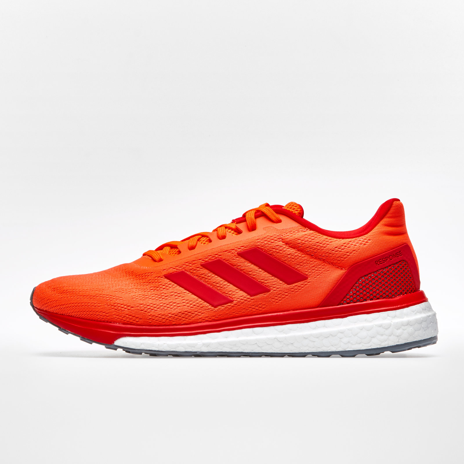 wholesale dealer 63021 b1fee adidas Mens Response Athletic Running Shoes Sports Trainers Orange