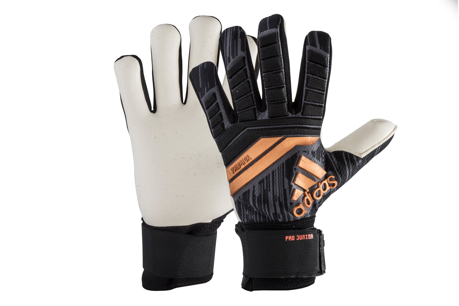 951c7275054 ... where can i buy adidas predator pro kids protector sports safety  goalkeeper gloves black 5cc05 ae1a7