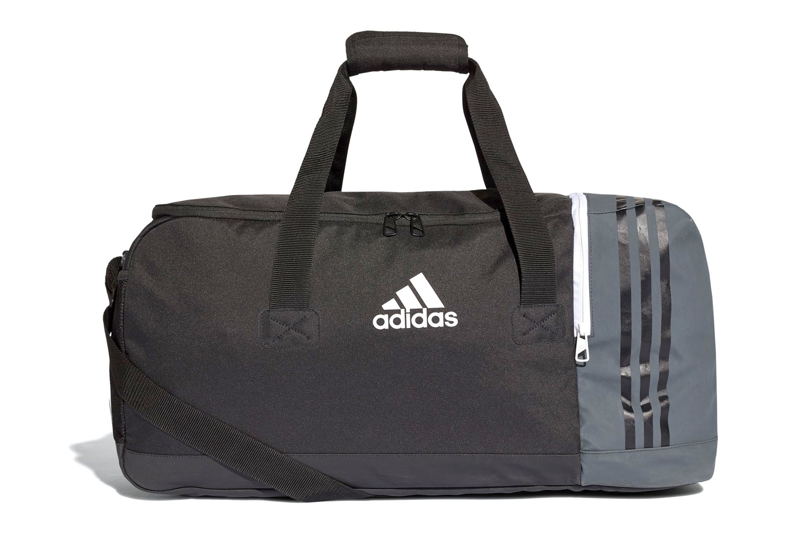 f4964f004b adidas Mens Tiro Medium Match Day Team Sport Gym Bag Duffel Bag Black