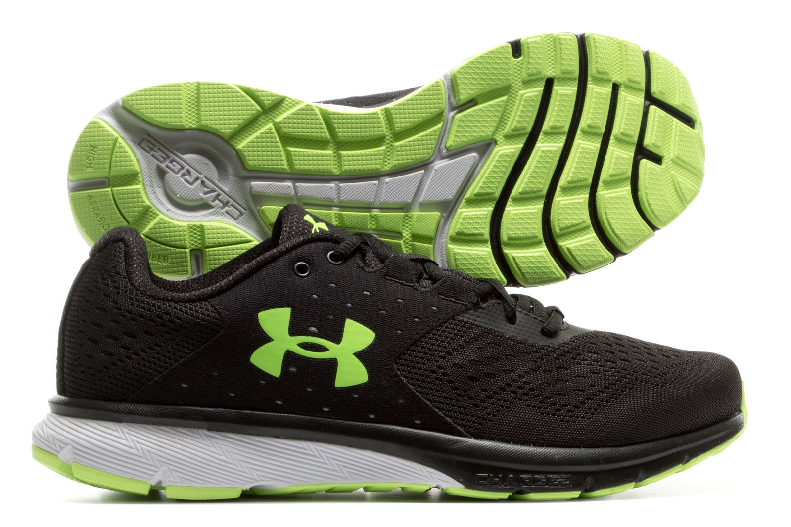 8f16af718e Under Armour Mens Charged Rebel Running Shoes Sports Training Train ...