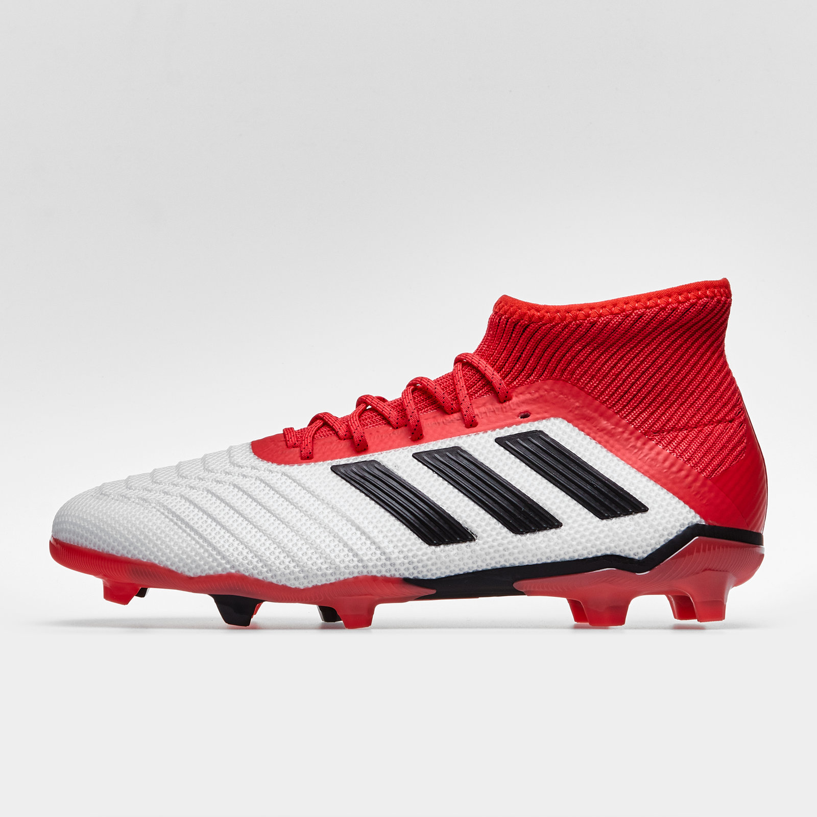 fd4a18f68c69 adidas Predator 18.1 Firm Ground Kids Football Boots Trainers Sports ...