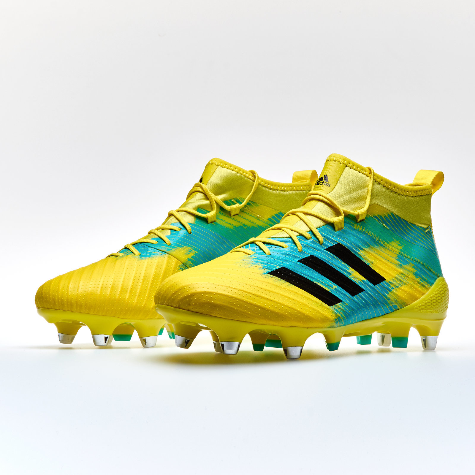 4a2d9d34174a Details about Predator Flare SG Rugby Boots Training Sports Footwear  Trainers