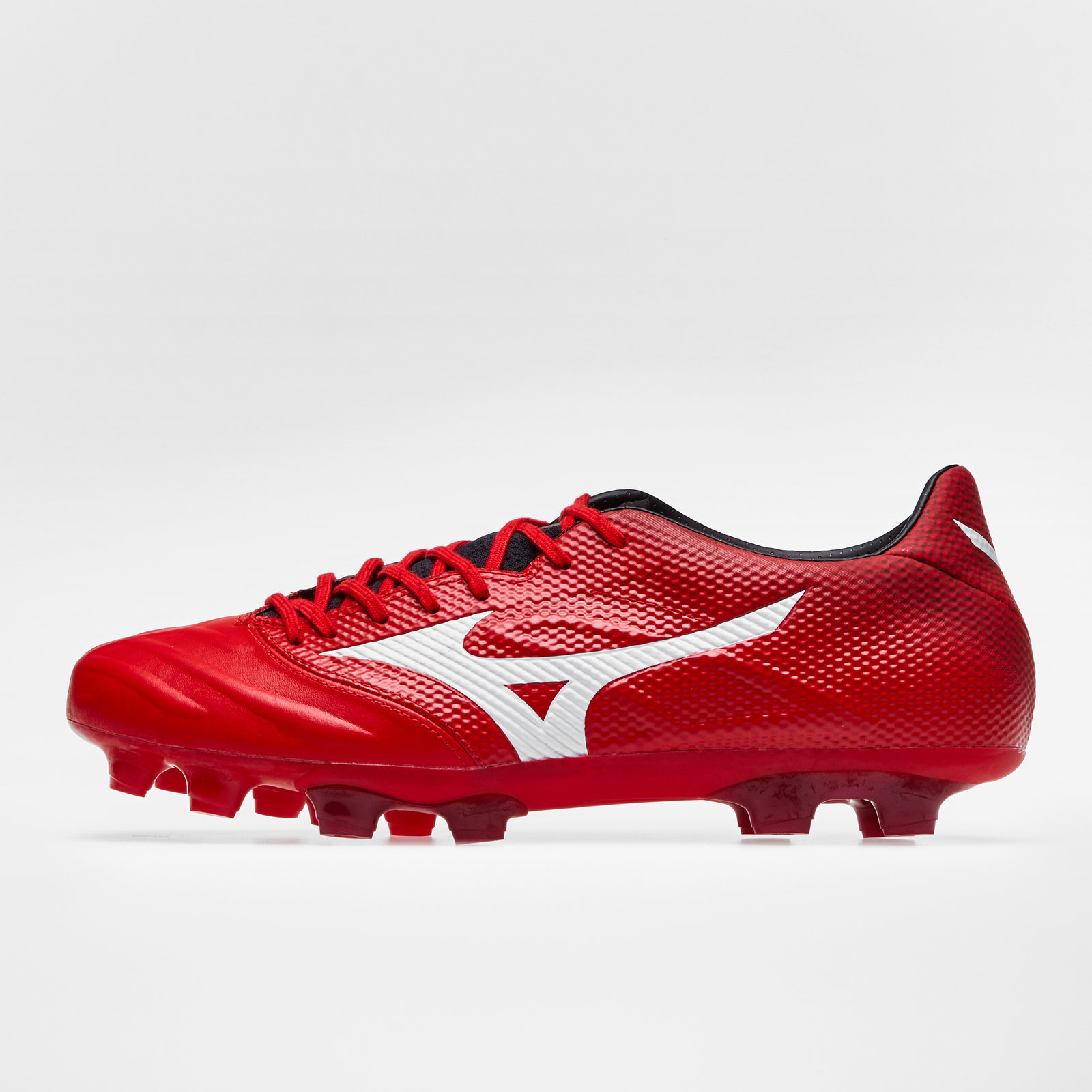 13fd3f1b2b4 Details about Mizuno Mens Rebula 2 V-Speed Firm Ground Football Boots Studs  Trainers Shoes Red