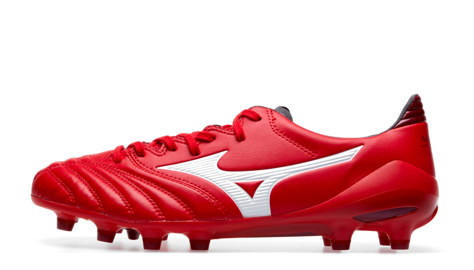 8fc4450fb Mizuno Mens Morelia Neo II MD Firm Ground Football Boots Stud Trainers Shoes  Red