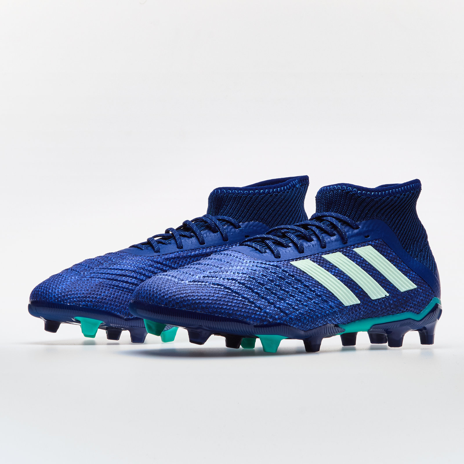 6706456c269 Details about adidas Predator 18.1 Firm Ground Kids Football Boots Studs Trainers  Sports Shoes