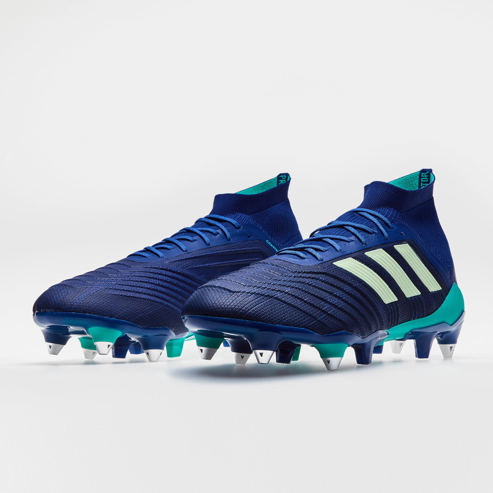 8ccd4dca2 adidas Mens Predator 18.1 Soft Ground Football Boots Studs Trainers Sports  Shoes