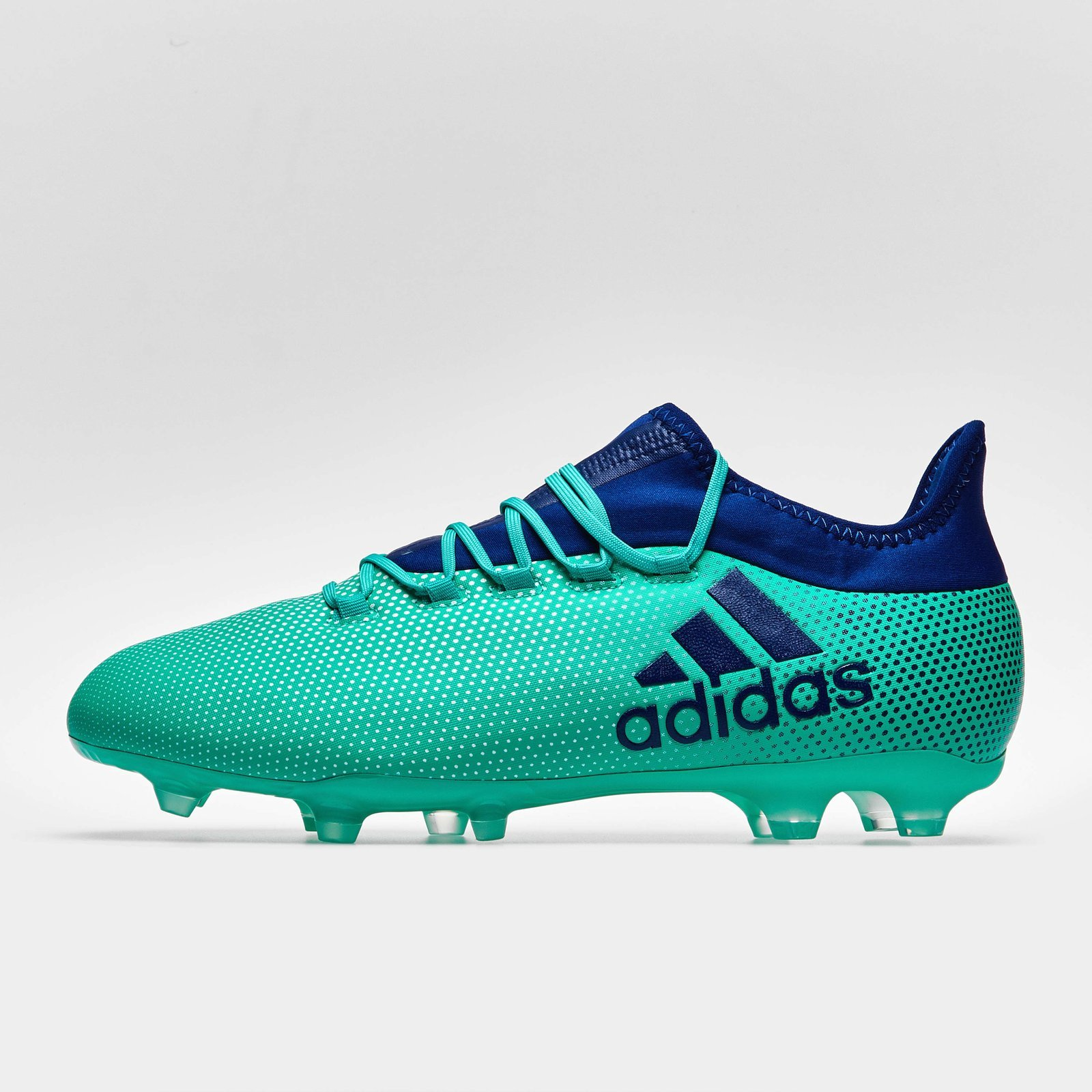 separation shoes a9ad8 6b6da adidas Mens X 17.2 Firm Ground Football Boots Studs Trainers Sports Shoes  Green