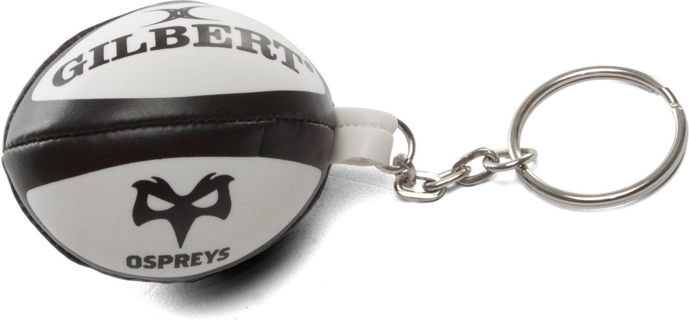Details about Unisex Ospreys Rugby Ball Keyring Keyholder Accessory Black 3269d07cb