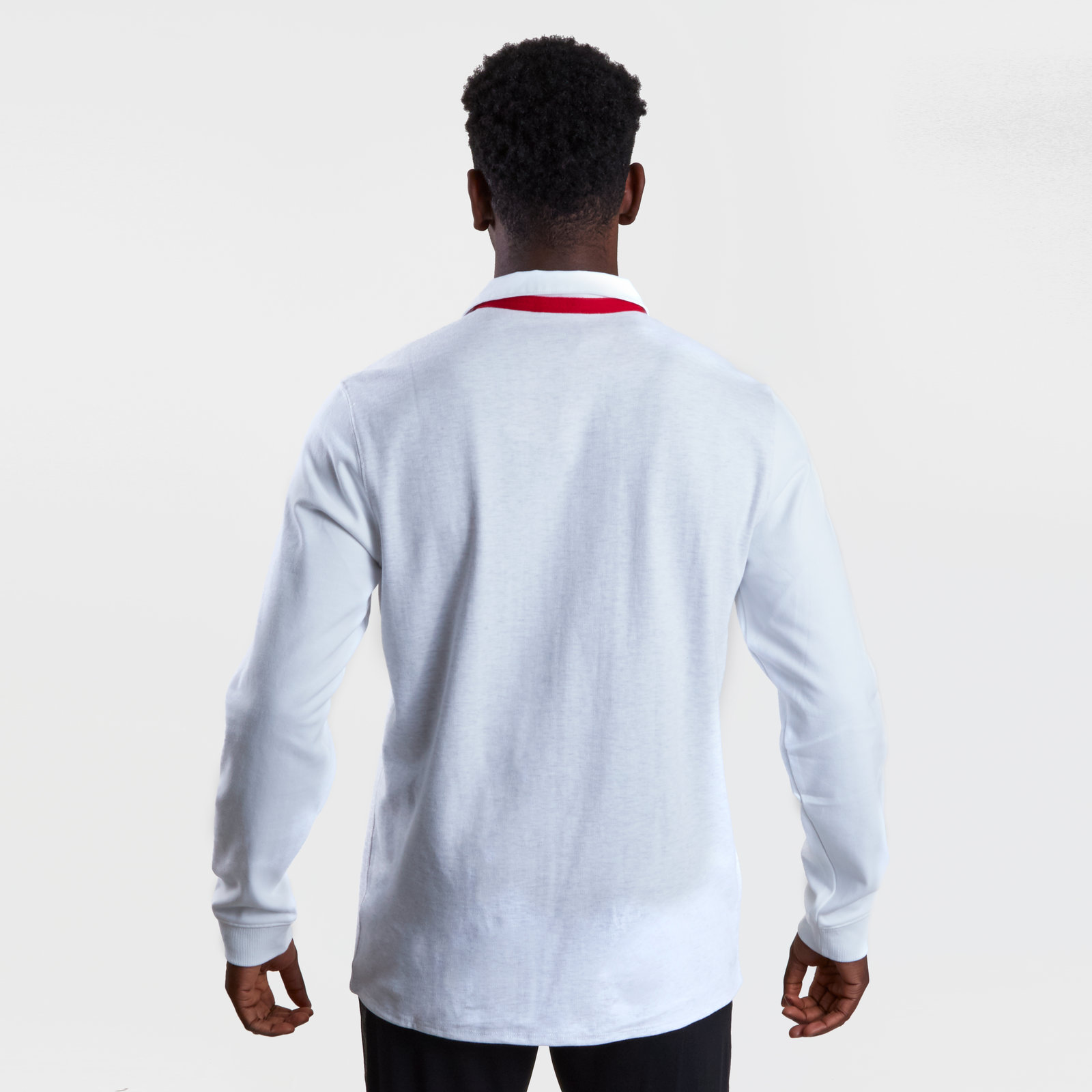 Canterbury Mens England 2018//19 Home Classic Long Sleeve Rugby Shirt White