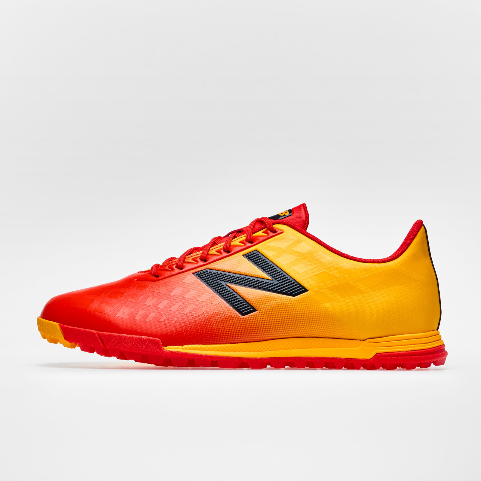 48c982ad573 Details about New Balance Mens Furon 4.0 Dispatch TF Football Boots  Trainers Sports Shoes Red