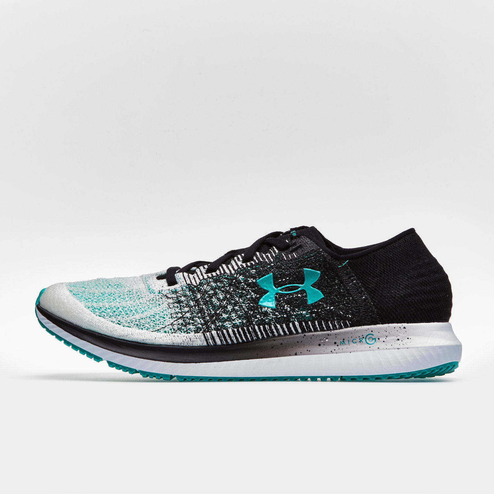 230f87ec3e Details about Under Armour Mens UA Threadborne Blur Running Shoes Footwear  Trainers Black