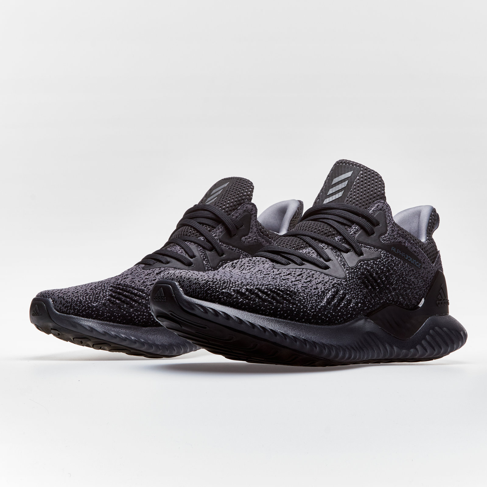 buy online 2ff9e 44e59 Details about adidas Mens AlphaBounce Beyond Running Shoes Sports Trainers Black  Footwear