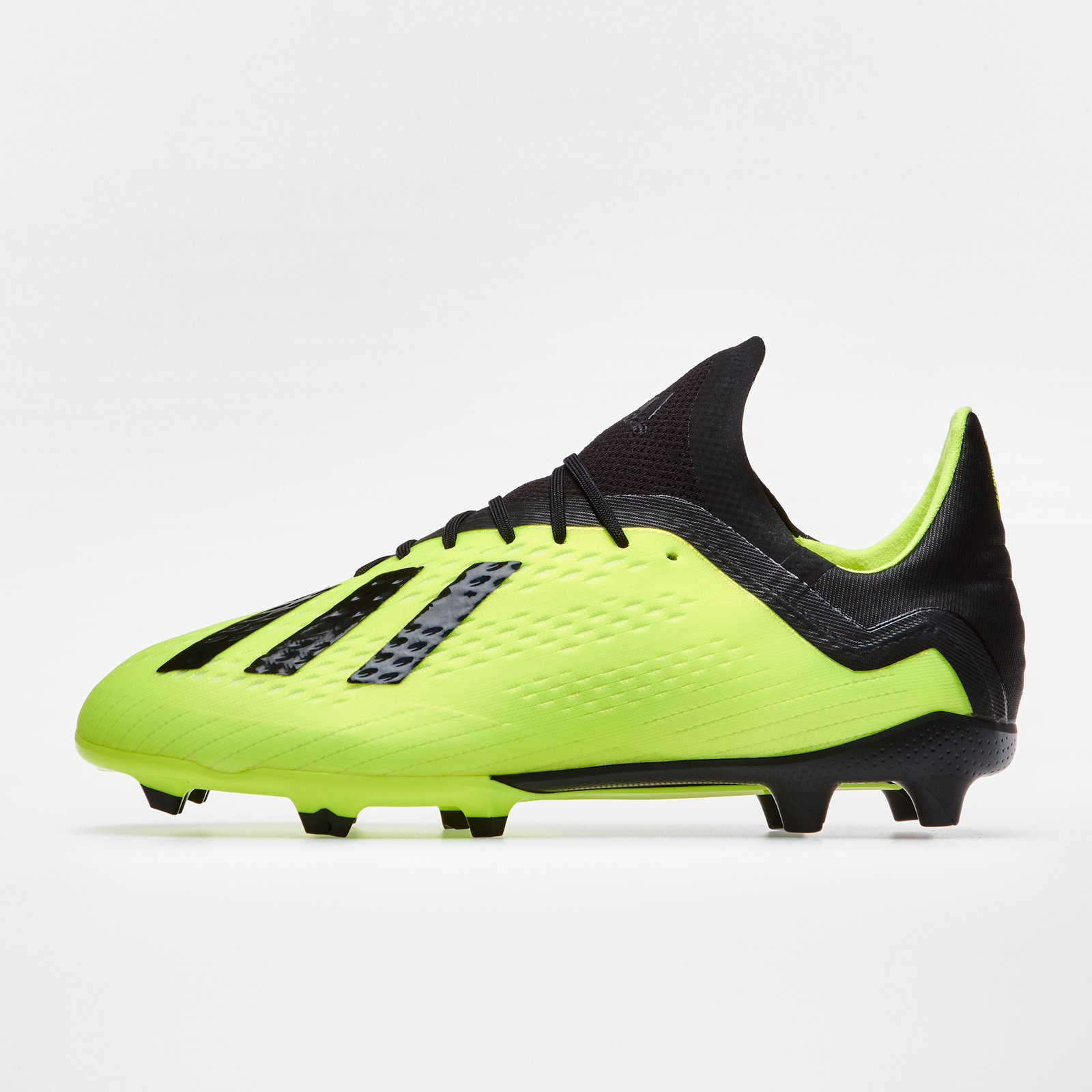485088942a73 adidas X 18.1 Firm Ground Kids Football Boots Studs Trainers Sports Shoes  Yellow