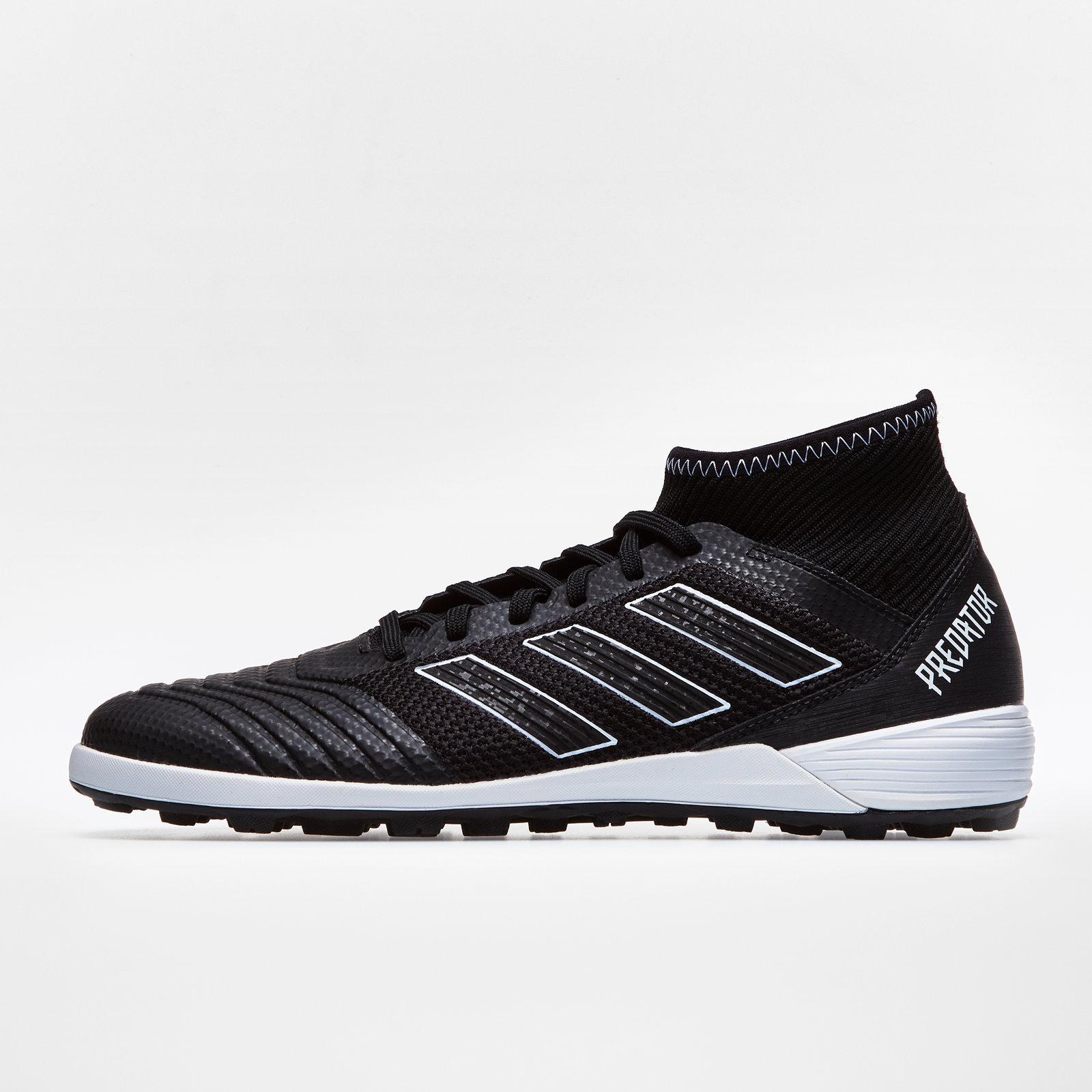 79deea23ef02a adidas Mens Predator Tango 18.3 TF Football Boots Studs Trainers Shoes Black