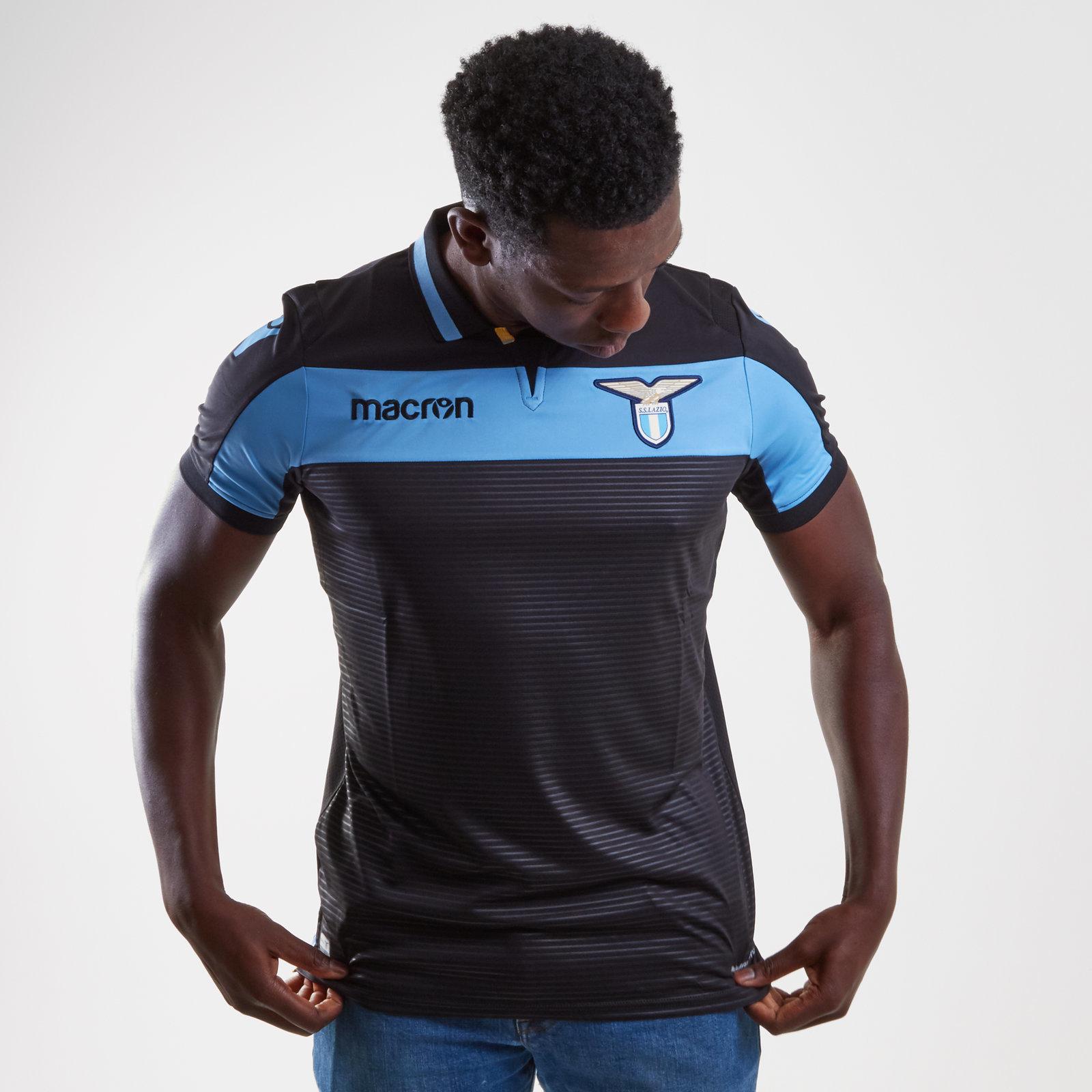 Macron Third Jersey Black 18//19 Lazio