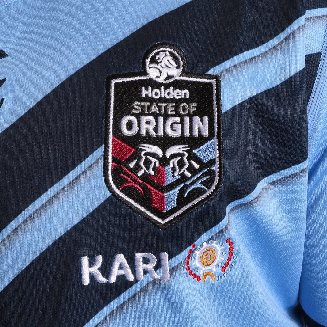 3167ec20623 Canterbury Mens NSW Blues State of Origin 2019 Home Rugby League Short  Sleeve