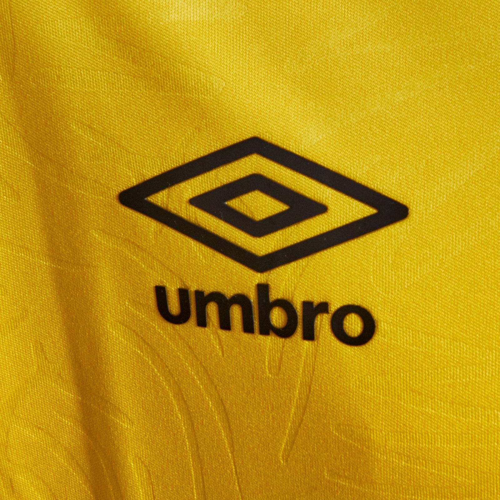 Umbro Jamaica 2018 Home Kids Short Sleeve Replica Football Shirt Yellow