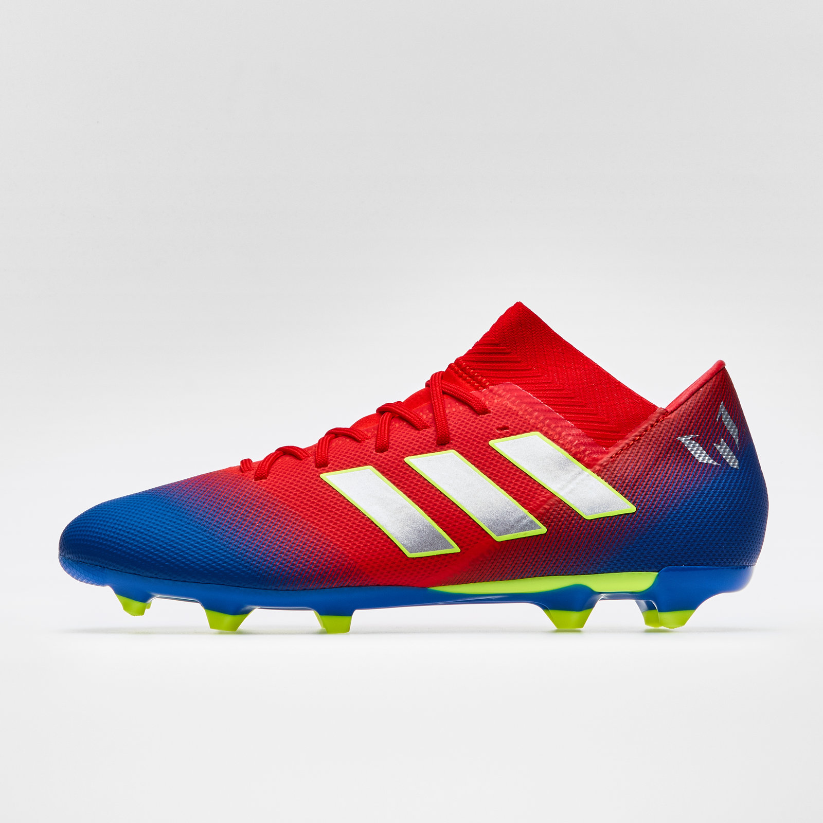78c0c7f54 adidas Mens Nemeziz Messi 18.3 FG Football Boots Studs Trainers Sports Shoes  Red