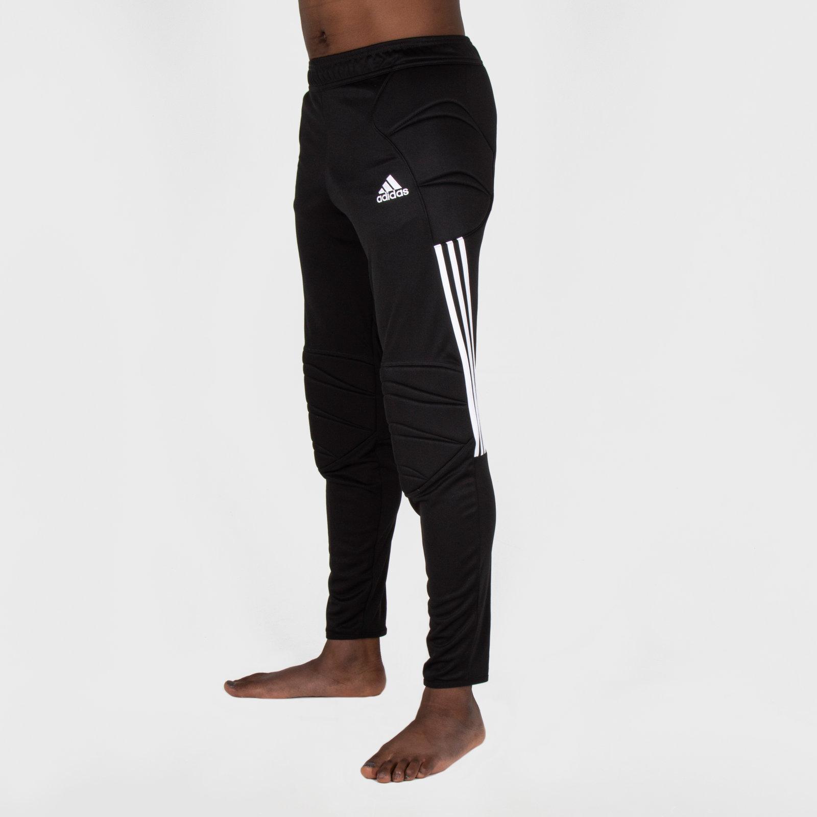 dcfbd5593e8 adidas Mens Tierro 13 Padded Goalkeeper Sports Training Pants Trousers Black