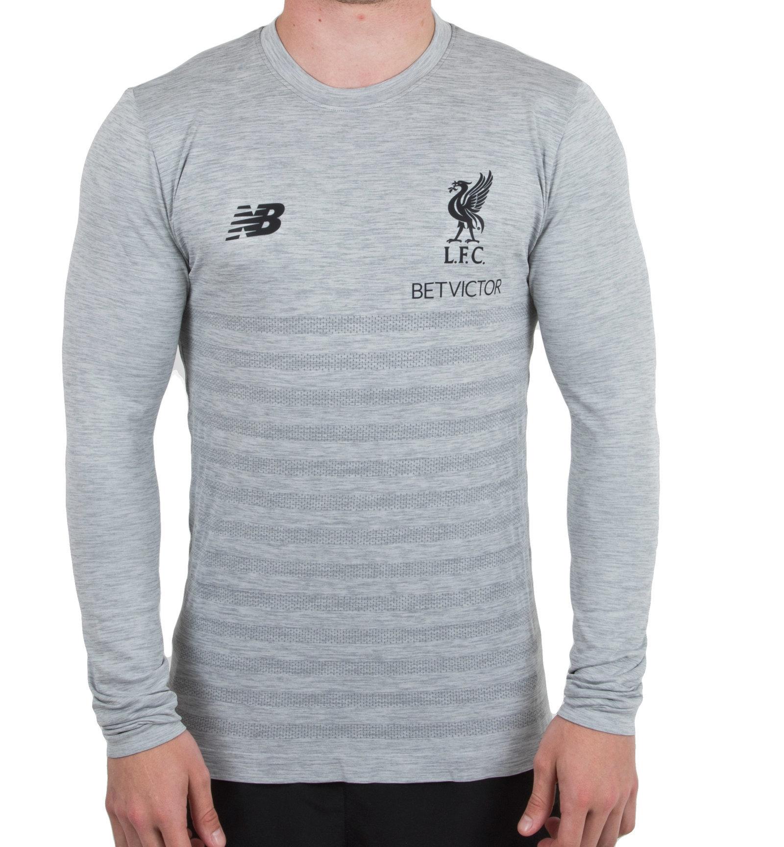 550a0430b New Balance Mens Liverpool FC 18/19 Elite Long Sleeve Seamless Training  Shirt