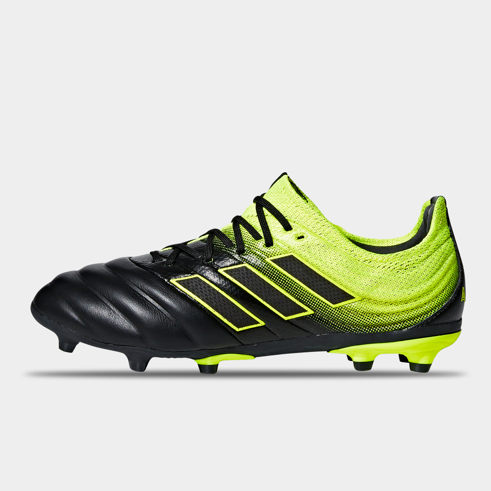 25423302b64ce adidas Copa 19.1 Firm Ground Kids Football Boots Studs Trainers Shoes Black