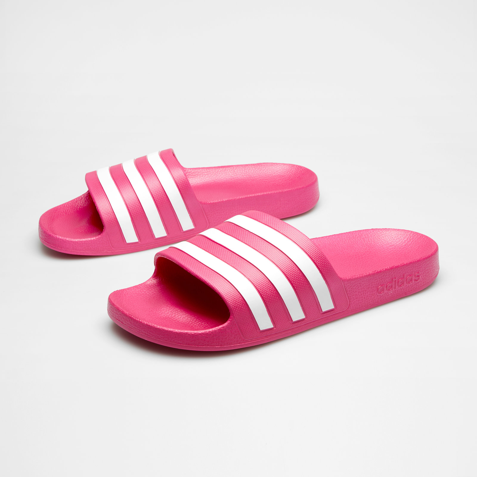 Details about adidas Womens Adilette Aqua Cloudfoam Slide Flip Flops Purple