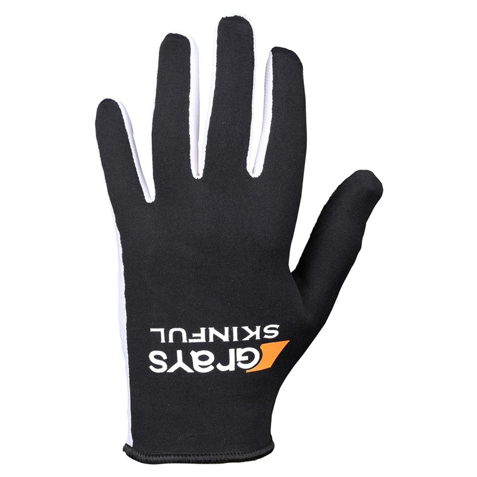 Grays Mens Skinful Hockey Gloves Black Sports Training Accessory