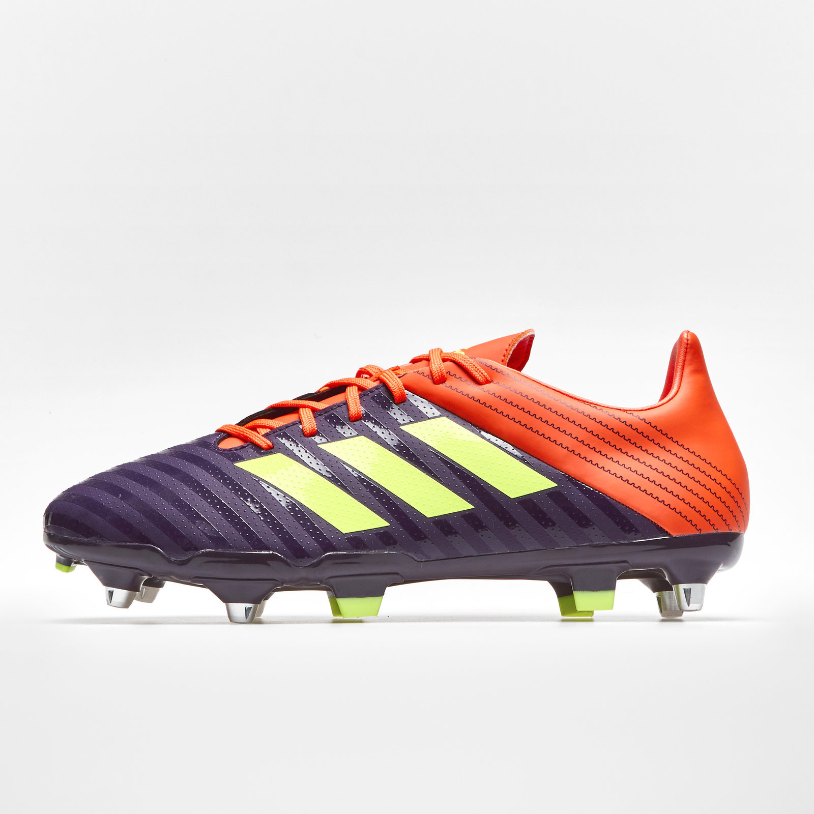 181f753143b Details about adidas Mens Malice Soft Ground Rugby Boots Sports Shoes Studs  Purple