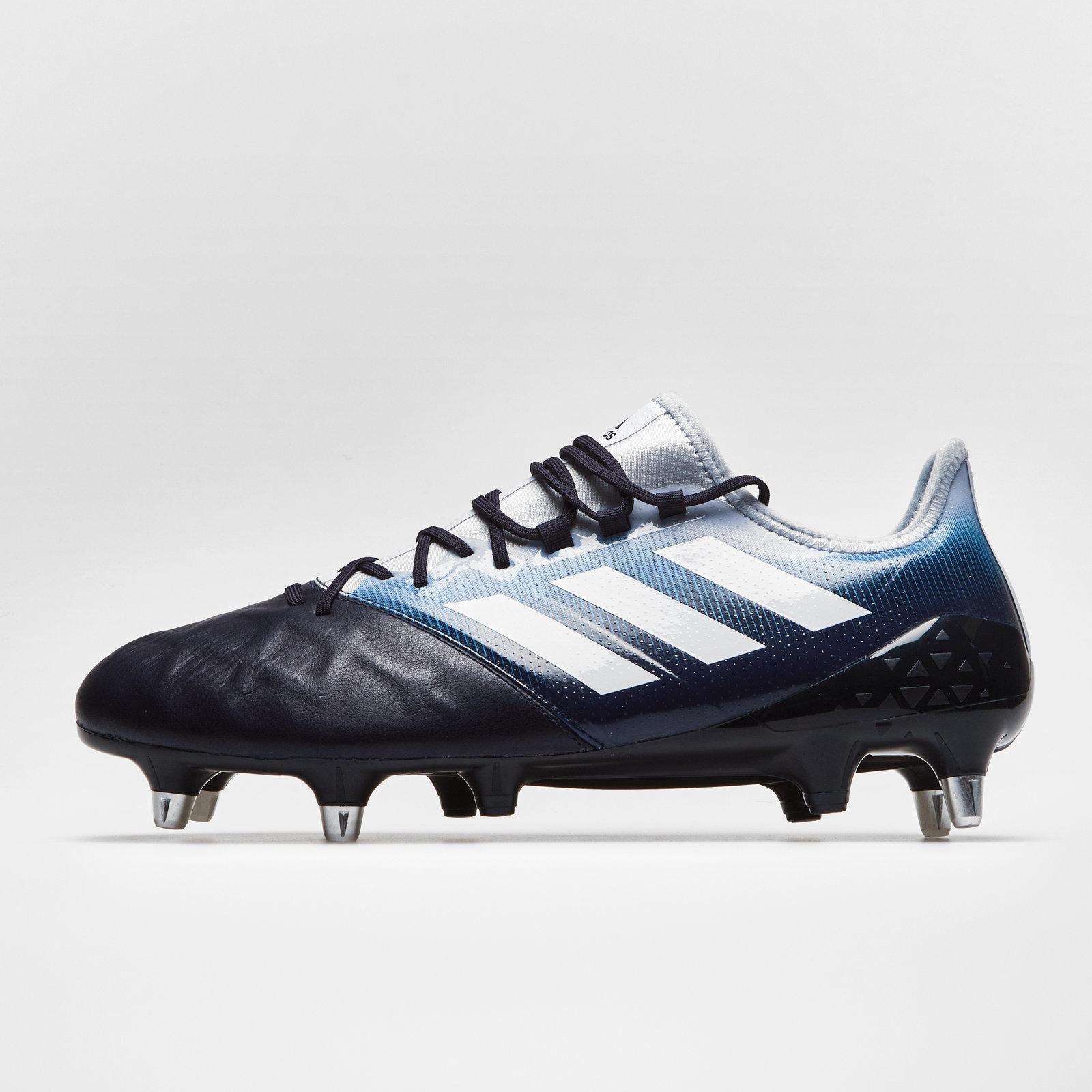 Adidas Mens Kakari Light Soft Ground Rugby Boots Sports Shoes Studs Black Ebay