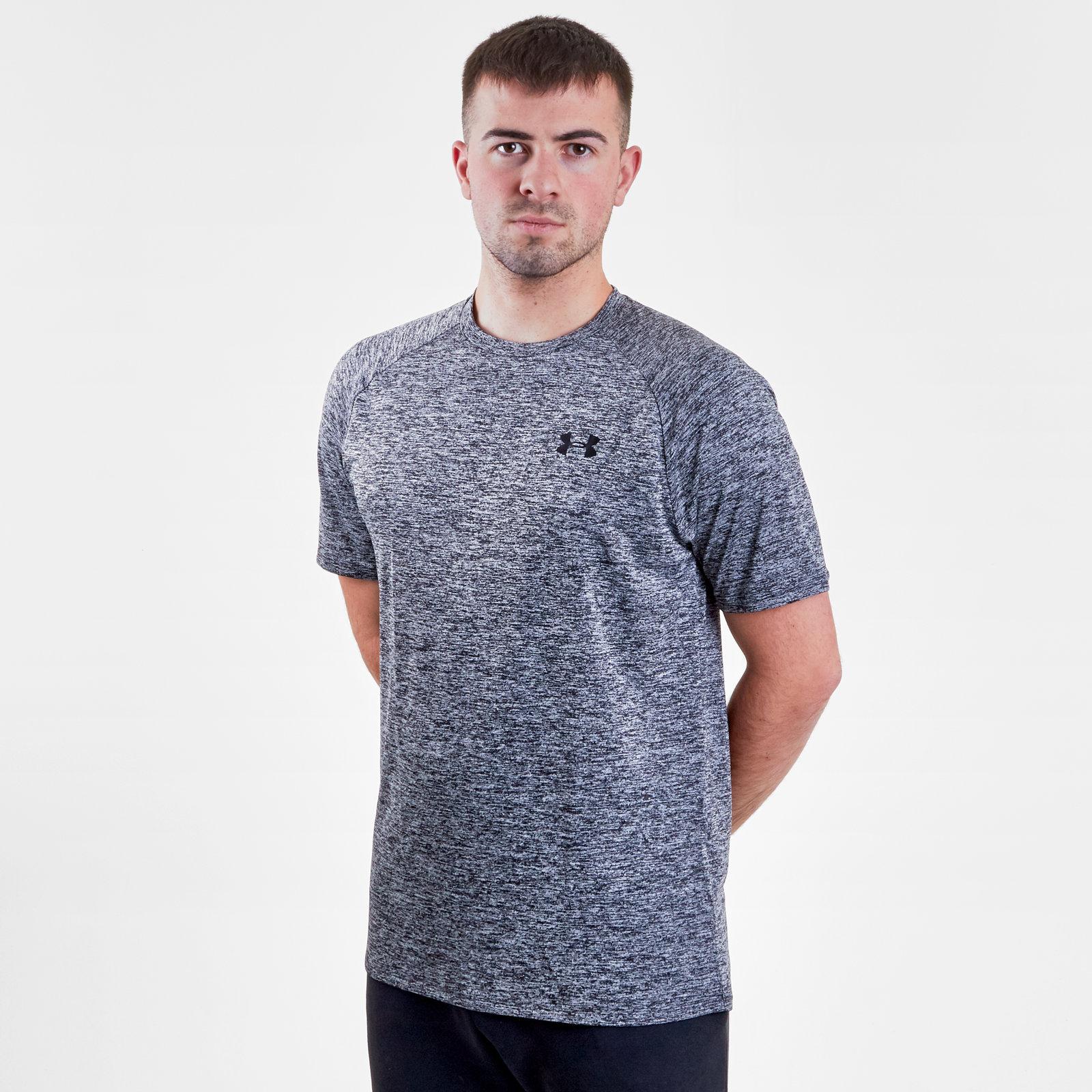 Men/'s Under Armour UA Tech™ Short Sleeve Training T-Shirt Heatgear Base Layer