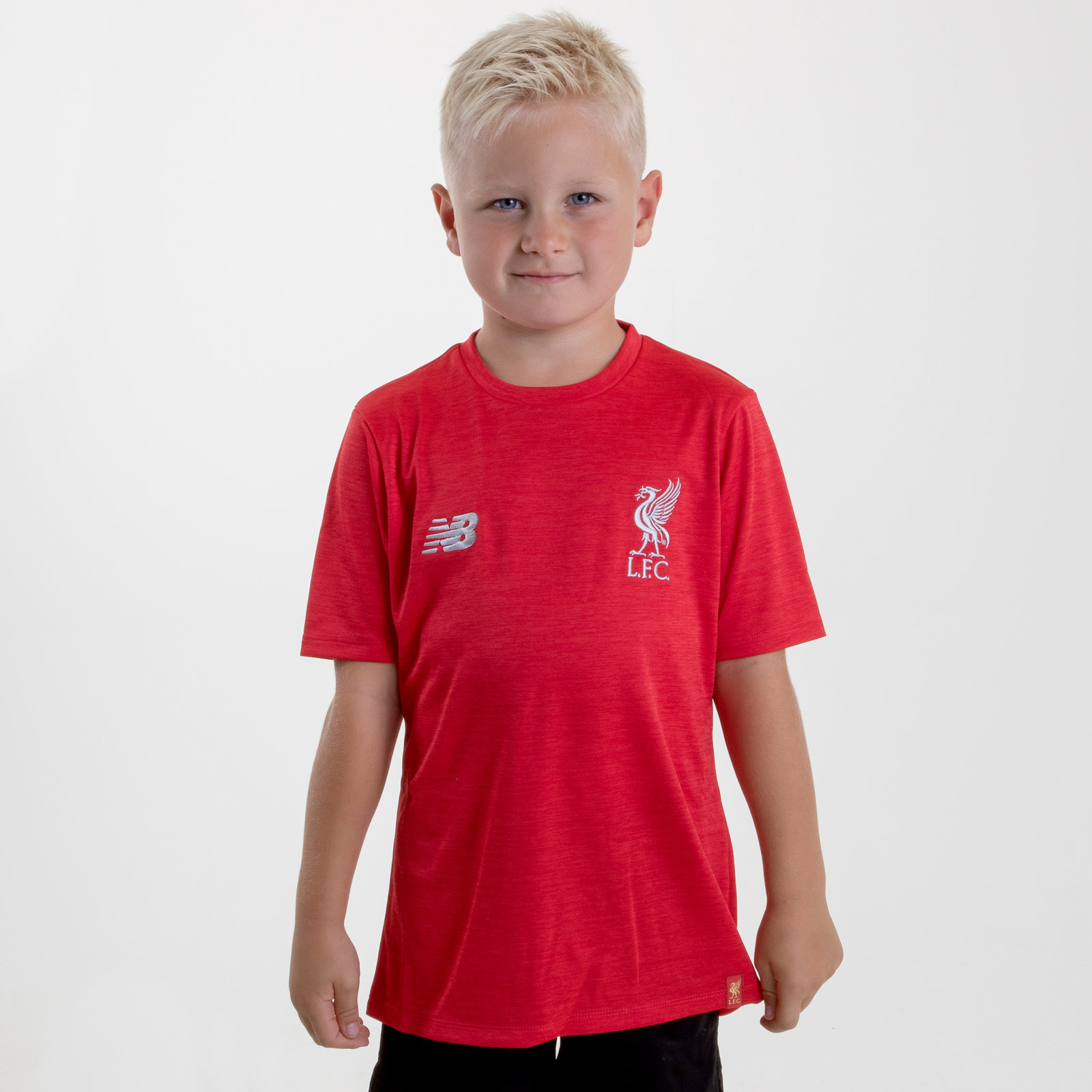 NEW Balance Liverpool FC 18//19 Kids Football Training T-shirt SPORTS Top