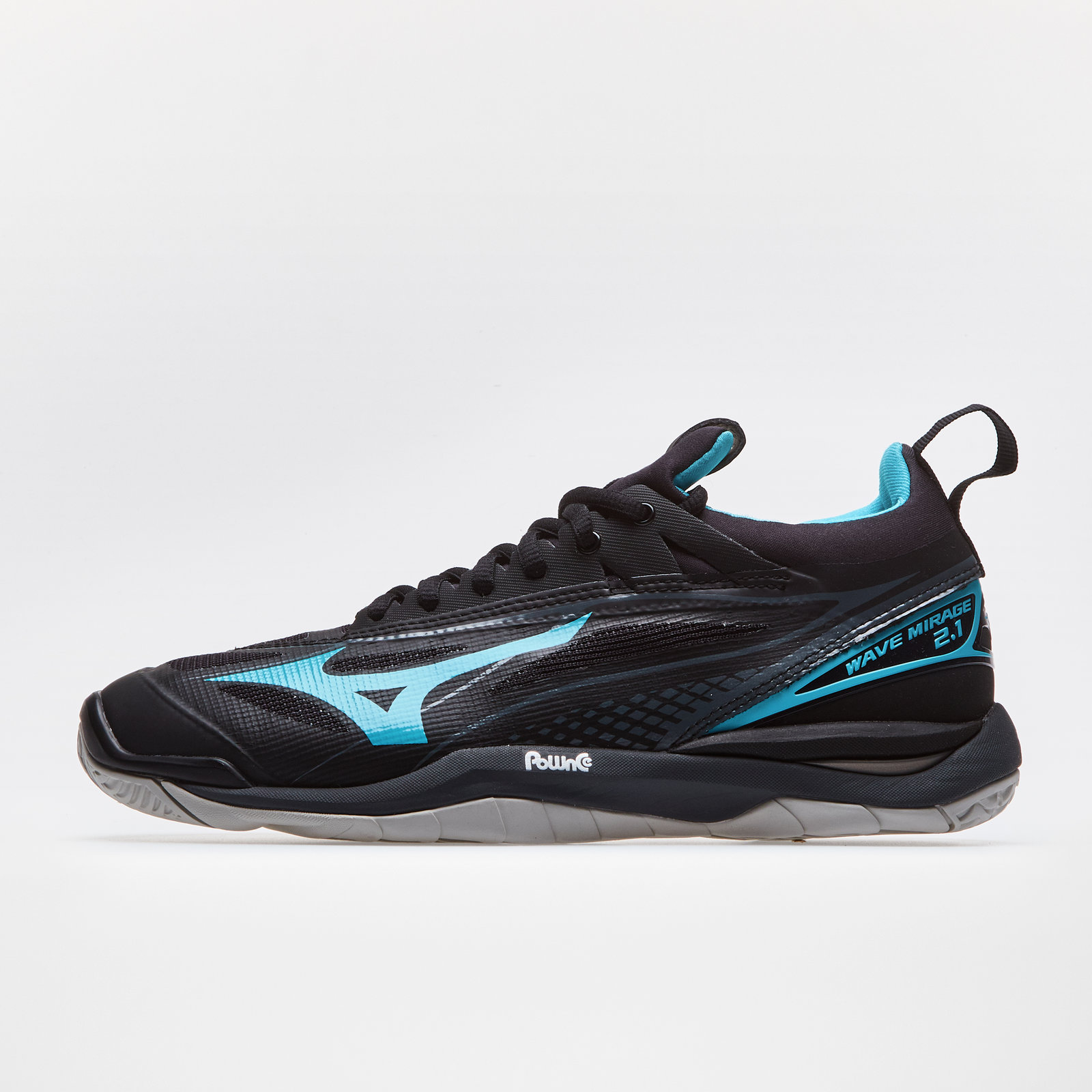 Mizuno Mens Wave Mirage 2 Indoor Court Shoes Blue Navy Sports Handball Trainers