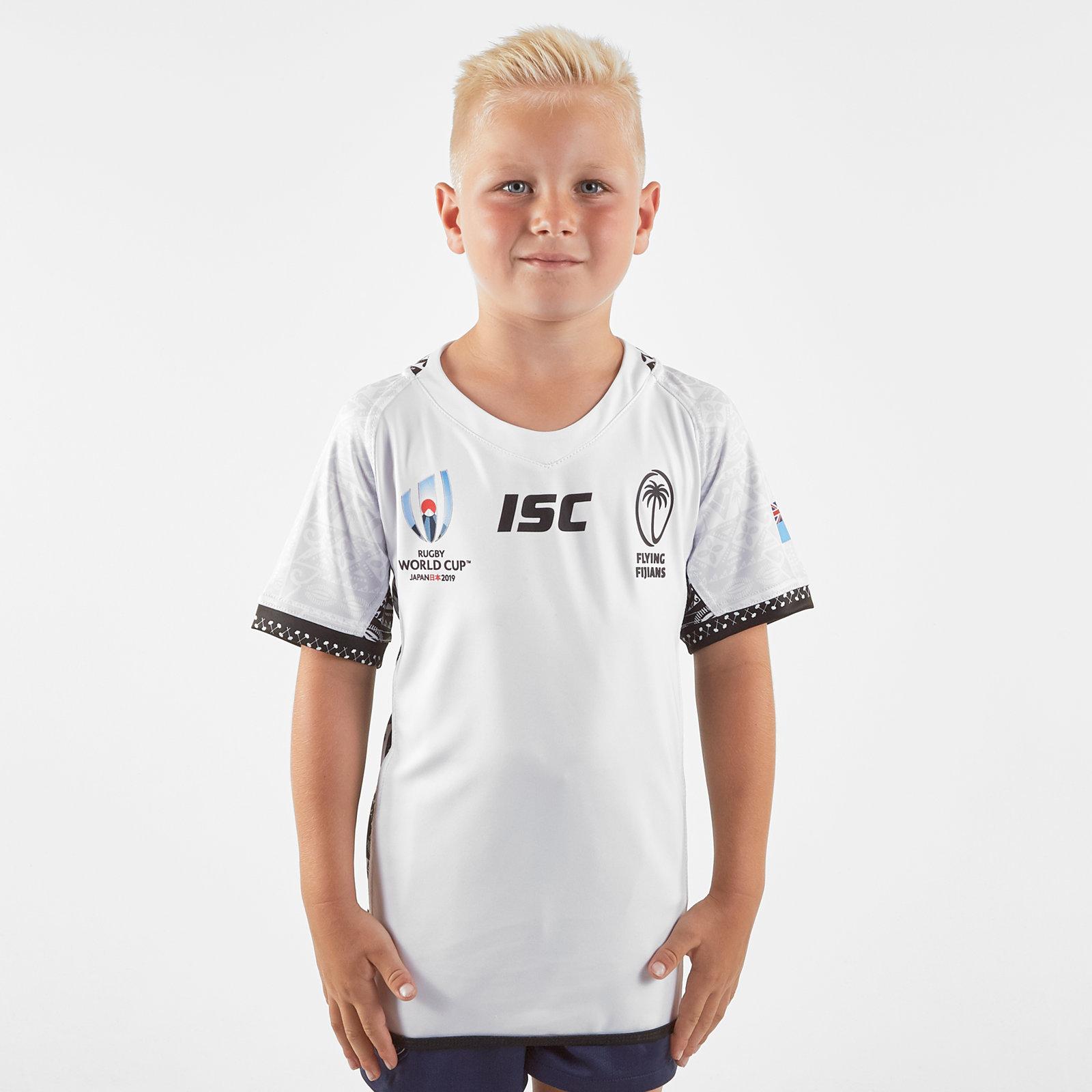 ISC Unisex Fiji RWC 2019 Kids Home S//S Shirt