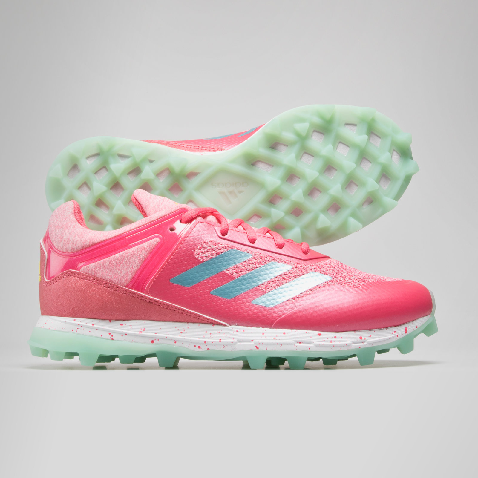 wholesale dealer 1578c 31b98 adidas Mens World Cup Fabela Zone Womens Hockey Shoes Pink Sports Training