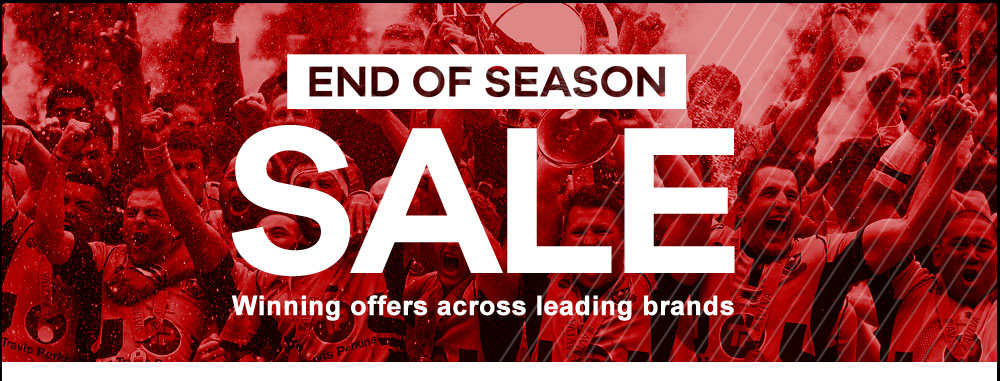 END OF SEASON SALE - Winning offers across leading brands
