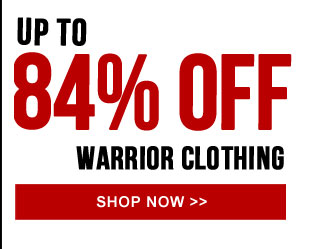 Up to 84% off Warrior Clothing