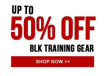 Up to 50% off BLK Training Gear