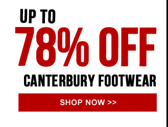 Up to 78% off Canterbury casual footwear