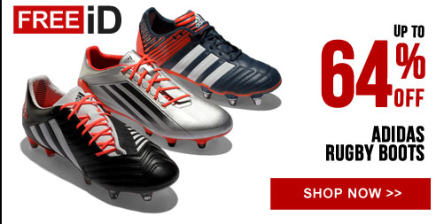 Up to 64% off adidas rugby boots