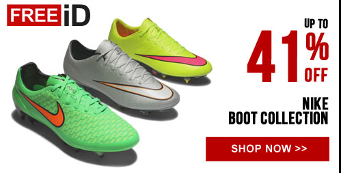 Up to 41% off Nike boot collection