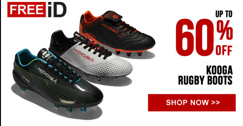 Up to 60% off Kooga rugby boots