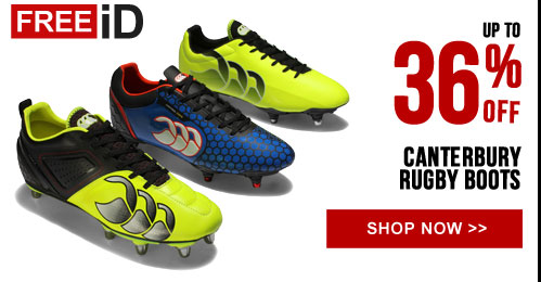Up to 36% off Canterbury rugby boots