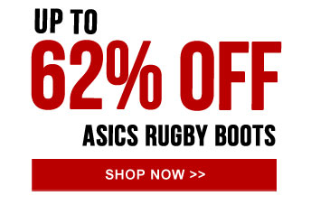 Up to 62% off Asics Rugby Boots