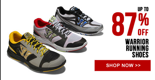 Up to 87% off Warrior Running Shoes