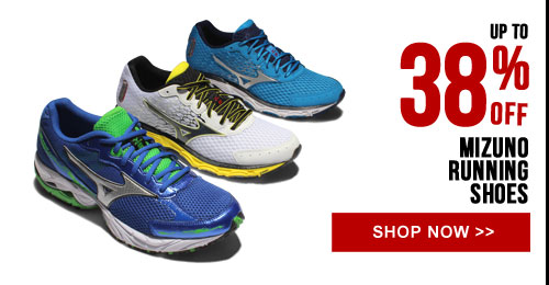 Up to 38% off Mizuno Running Shoes