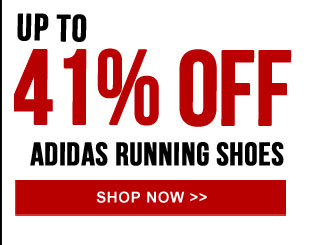 Up to 41% off adidas Running Shoes